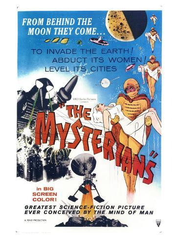The Mysterians, 1959 Art Print