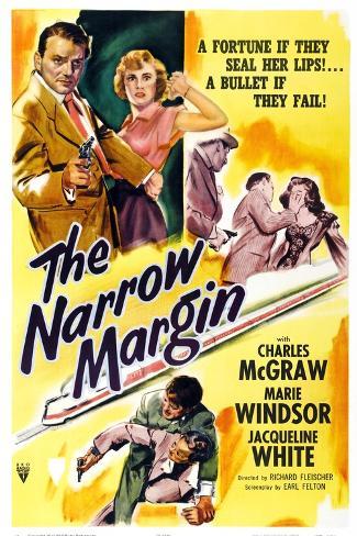 The Narrow Margin Art Print