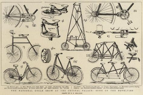 The National Cycle Show at the Crystal Palace, Some of the Novelties ...