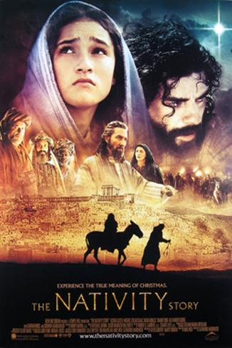 The Nativity Story 両面印刷ポスター