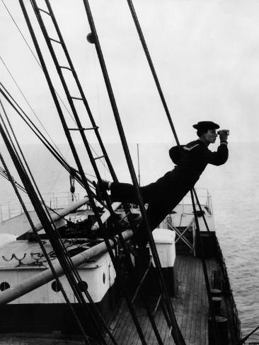 The Navigator, Buster Keaton, 1924 Photo