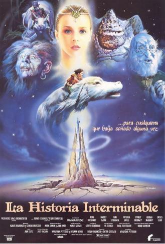 The Neverending Story - Spanish Style Poster