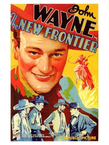 The New Frontier, 1935 Art Print