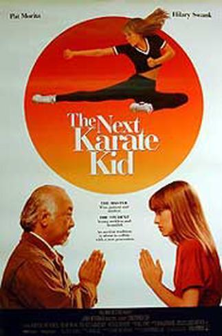The Next Karate Kid Original Poster