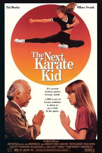 The Next Karate Kid Masterprint