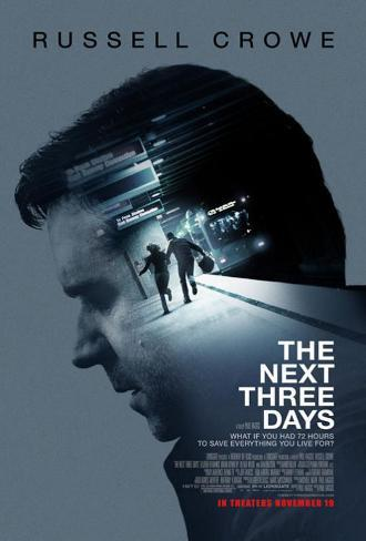 The Next Three Days - Russell Crowe Póster original