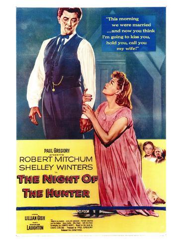 The Night of the Hunter, 1955 Art Print