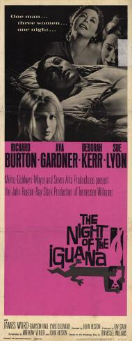 The Night of the Iguana Poster