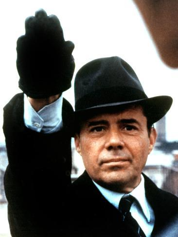 The Night Porter, Dirk Bogarde, 1974 Stretched Canvas Print