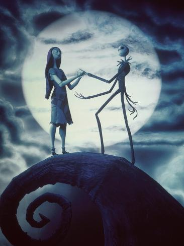The Nightmare before Christmas 1993 Directed by Henry Selick And Stretched Canvas Print