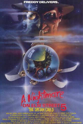 The Nightmare on Elm Street 5: Dream Child Masterprint