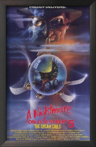 The Nightmare on Elm Street 5: Dream Child Framed Art Print