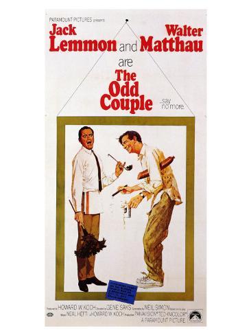 The Odd Couple, 1968 Premium Giclee Print