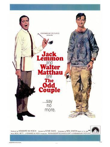The Odd Couple, 1968 Art Print