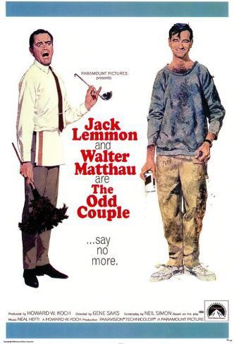 The Odd Couple Masterprint