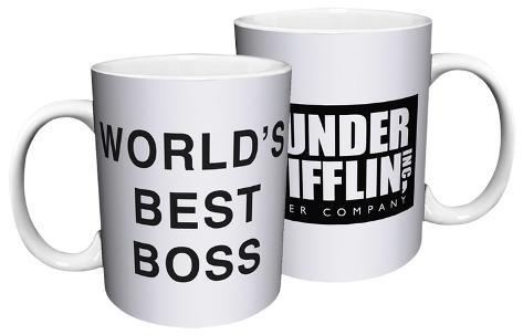 The Office Dunder Mifflin World S Best Boss Mug