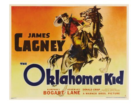 The Oklahoma Kid, James Cagney, 1939 Photo