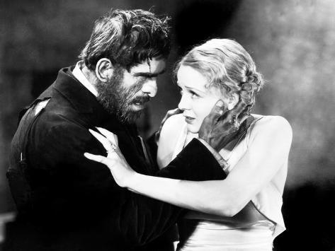 The Old Dark House, Boris Karloff, Gloria Stuart, 1932 Photo