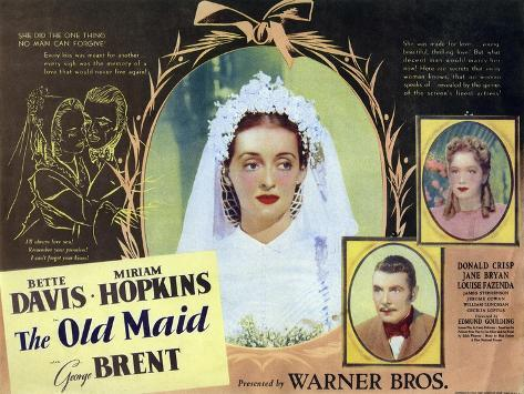 The Old Maid, 1939 Art Print