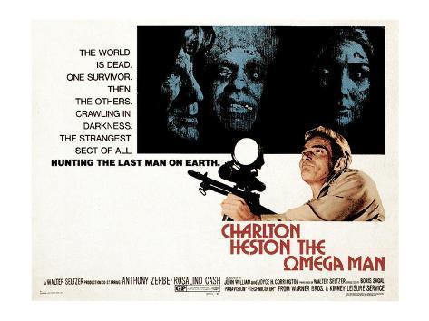 The Omega Man, Charleton Heston, 1971 Photo