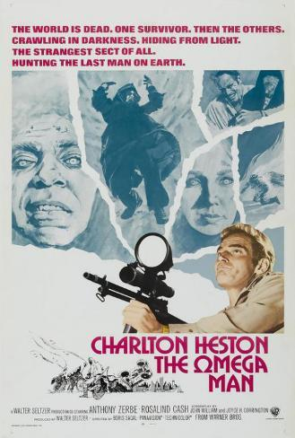 The Omega Man Poster