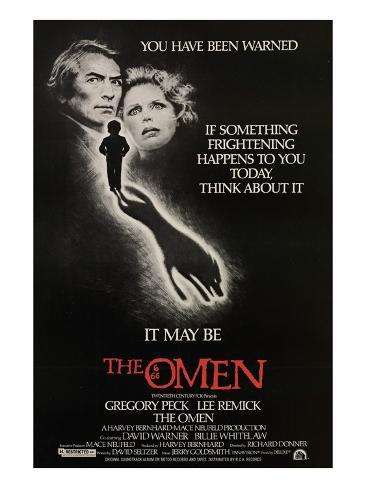 The Omen, Gregory Peck, Lee Remick, 1976 Photo