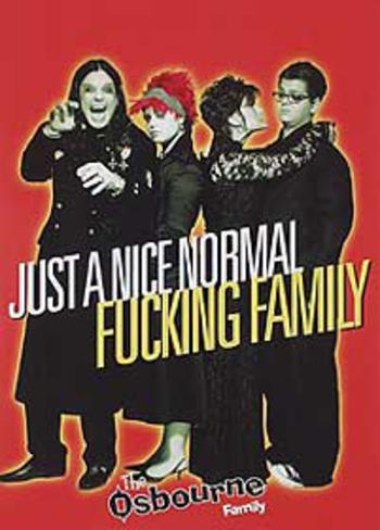 The Osborne Family (Ozzy Osborne, Sharon Osborne, Kelly Osborne) Television Poster Original Poster