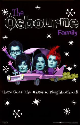The Osbournes Poster