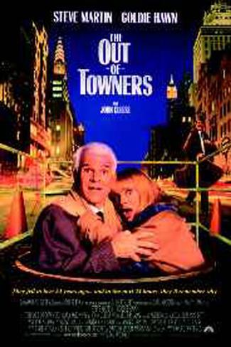 The Out Of Towners Original Poster