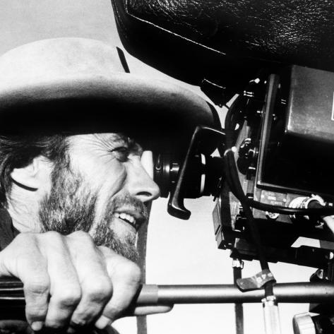 The Outlaw Josey Wales, Actor-Director Clint Eastwood, on Set, 1976 Fotografia