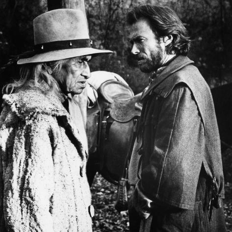 The Outlaw Josey Wales, Chief Dan George, Clint Eastwood, 1976 Photo
