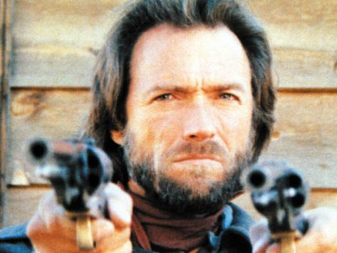 The Outlaw Josey Wales, Clint Eastwood, 1976 写真