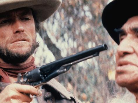 The Outlaw Josey Wales, Clint Eastwood, Chief Dan George, 1976 Photo