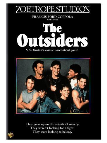 The Outsiders, 1982 Stretched Canvas Print
