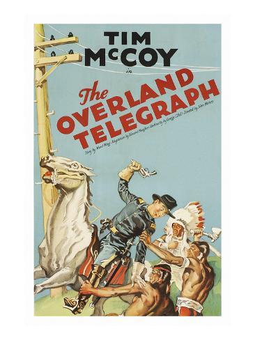 The Overland Telegraph Premium Giclee Print