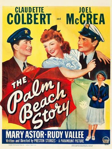 The Palm Beach Story Impressão artística