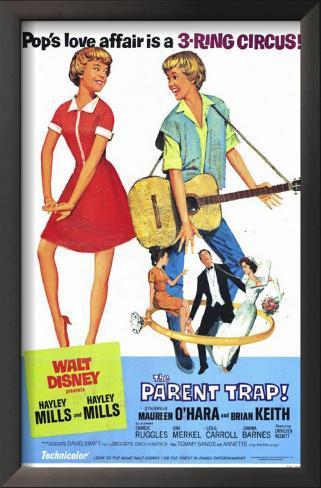 The Parent Trap Impressão artística emoldurada