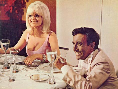 The Party, Carol Wayne, Peter Sellers, 1968 Photo