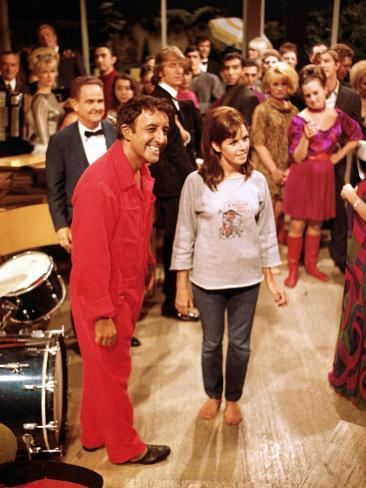 The Party, Peter Sellers, Claudine Longet, 1968 Photo