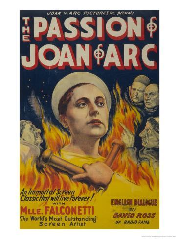 The Passion of Joan of Arc, c.1929 Art Print