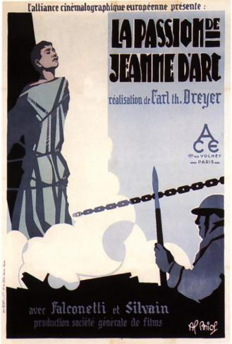 The Passion of Joan of Arc - French Style Poster
