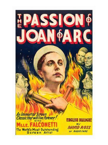 The Passion of Joan of Arc Premium Giclee Print