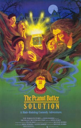 The Peanut Butter Solution Impressão original