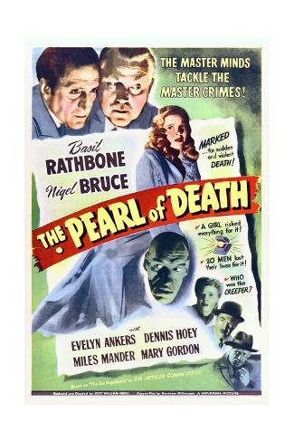 The Pearl of Death - Movie Poster Reproduction Premium Giclee Print