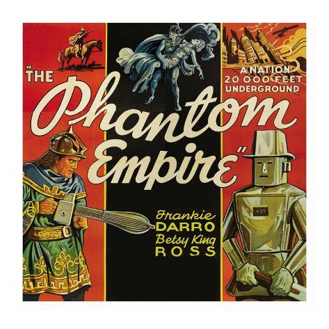 The Phantom Empire Art Print