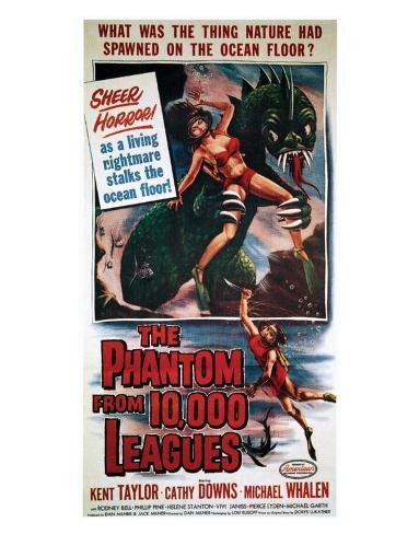 The Phantom From 10,000 Leagues - 1955 I Impressão giclée