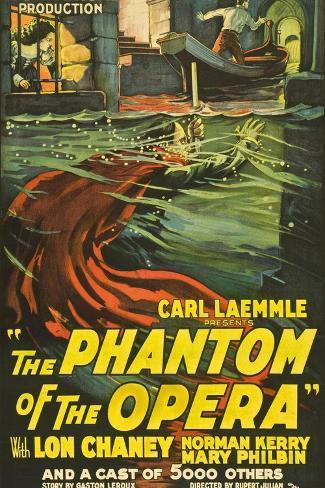 The Phantom of the Opera, 1925, Directed by Rupert Julian Giclee Print
