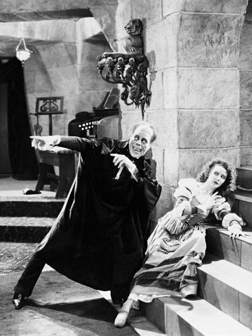 The Phantom of the Opera, 1925 Photographic Print