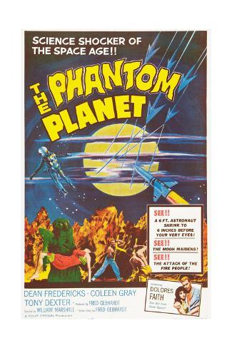 THE PHANTOM PLANET, 1961 Art Print