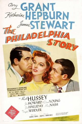 The Philadelphia Story, 1940, Directed by George Cukor Impressão giclée